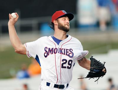 Trevor Clifton pitches against Chattanooga