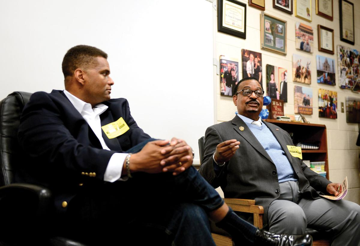 Maryville High School alumni Jerry Porter and Ron Coffin talk about desegregation and diversity