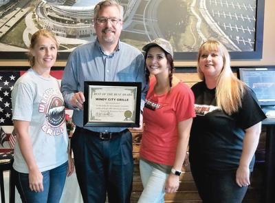 Windy City Grill Award