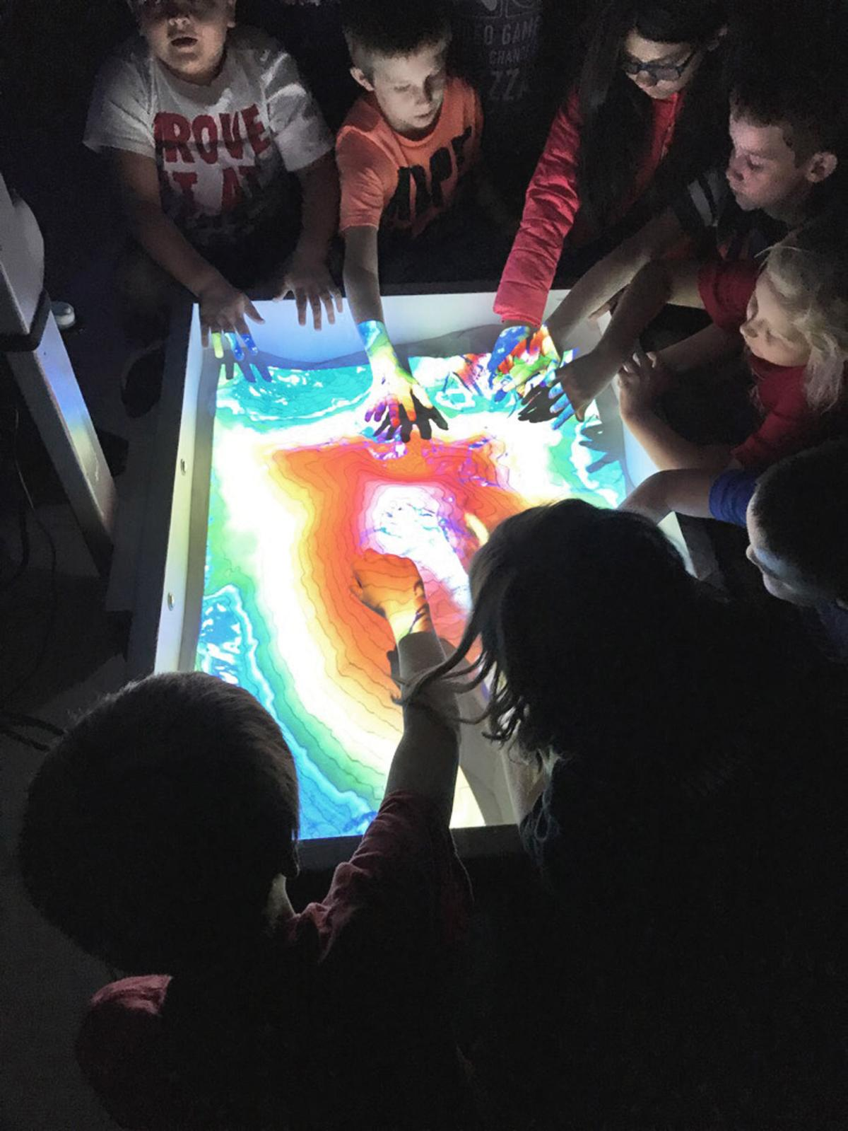 Walland Elementary students have hands-on geography lesson