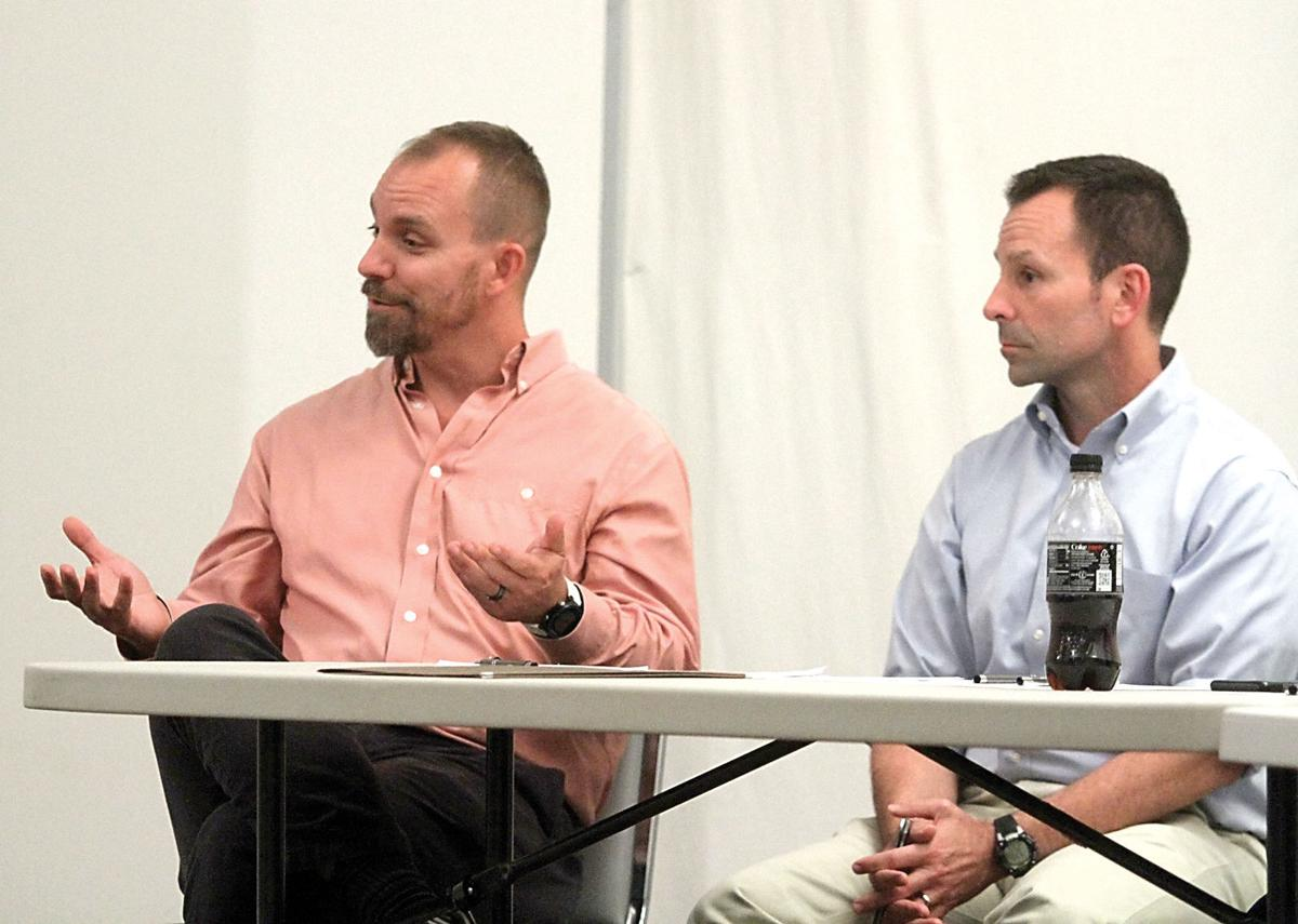 TDEC staff answer questions about environmental impact of tubing on the Little River