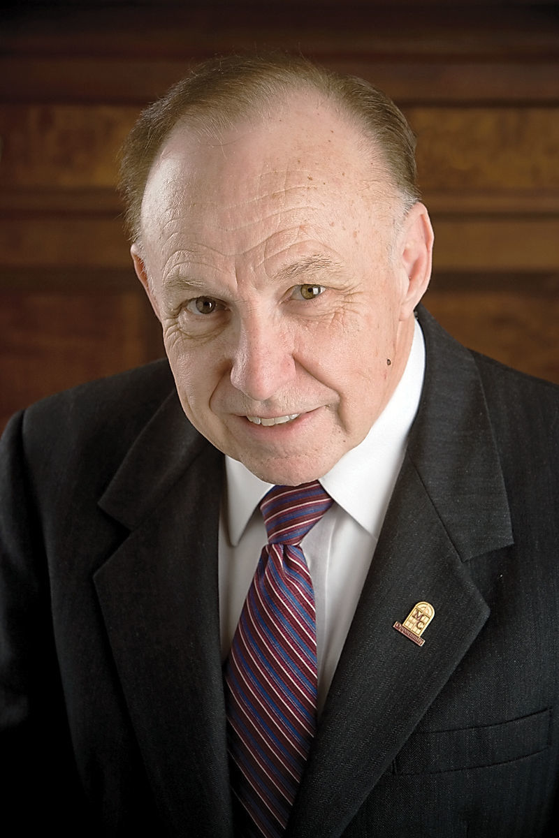 Gerald W. Gibson, president emeritus of Maryville College