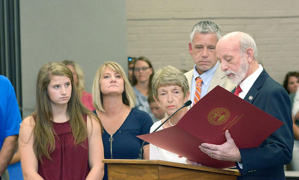 State proclamation honors Charles W. Finley