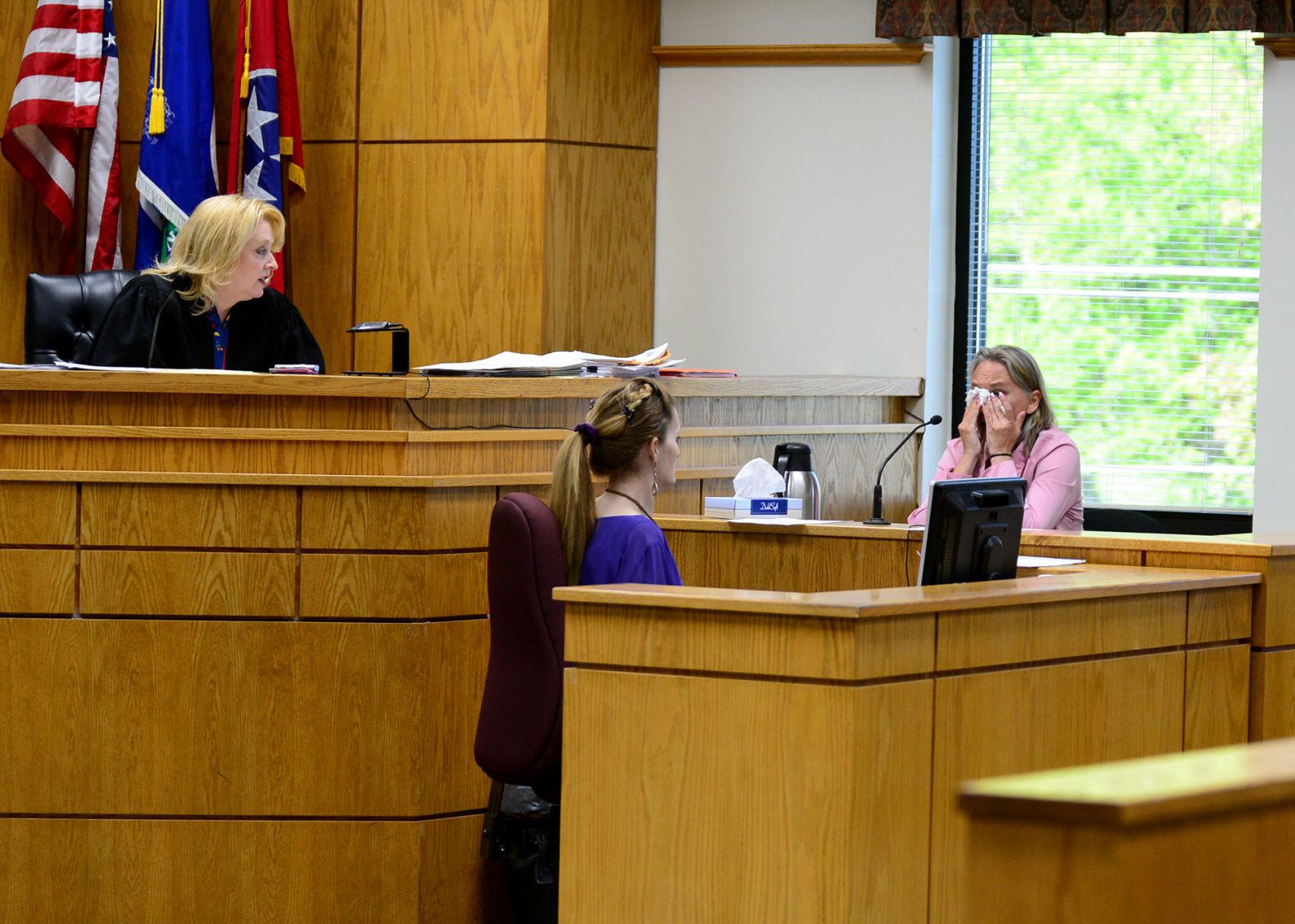 Blount County Circuit Judge Tammy Harrington tells