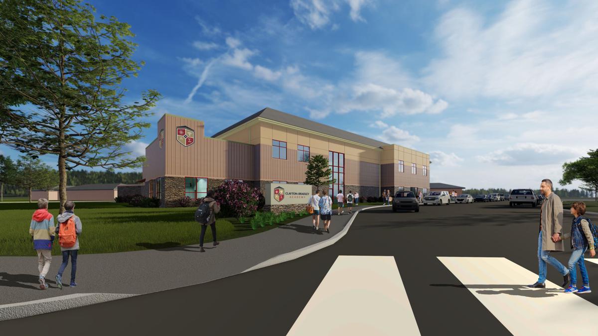 Clayton Bradley Academy's Student Union Educational Building