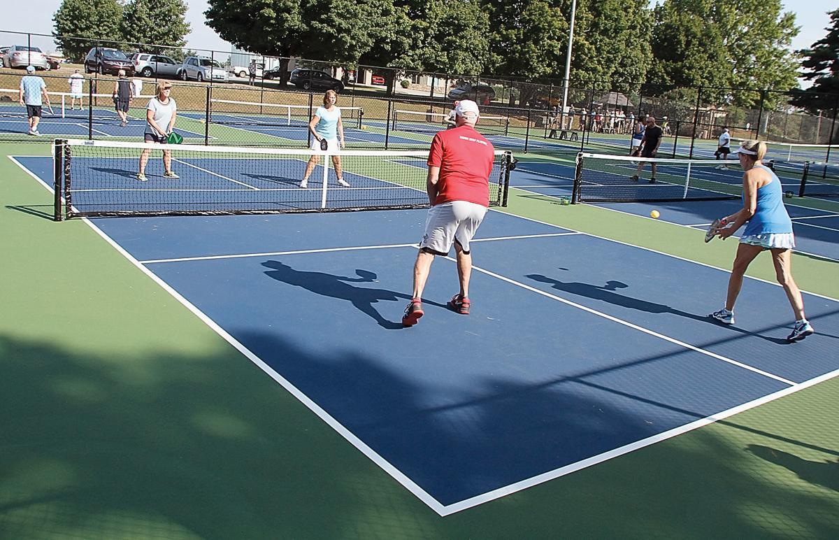 The Caroline Haynes Tennis Courts