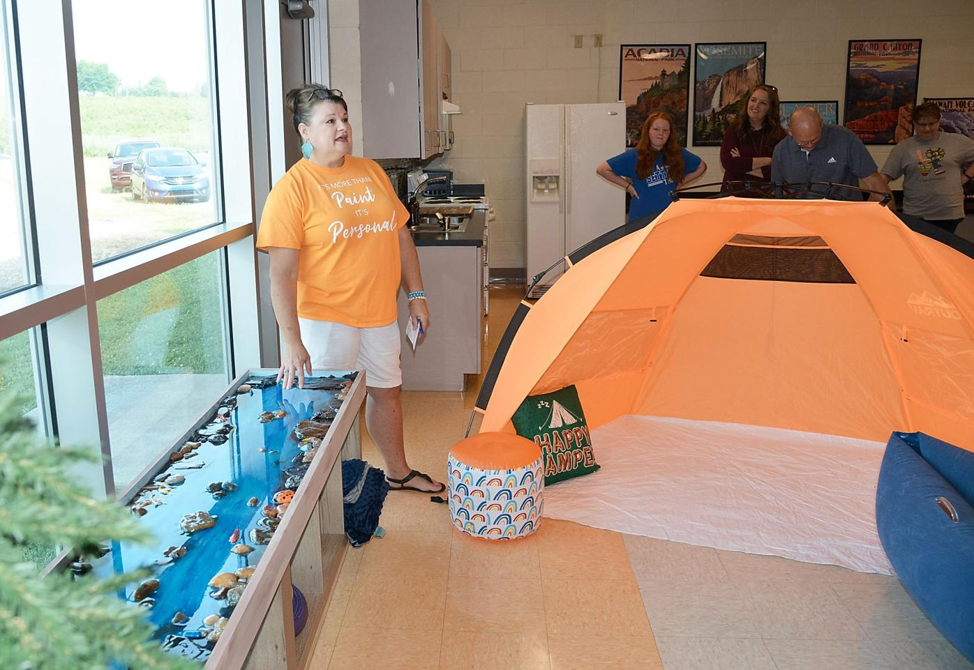 Mary Blount Elementary CDC makeover brings the outdoors inside