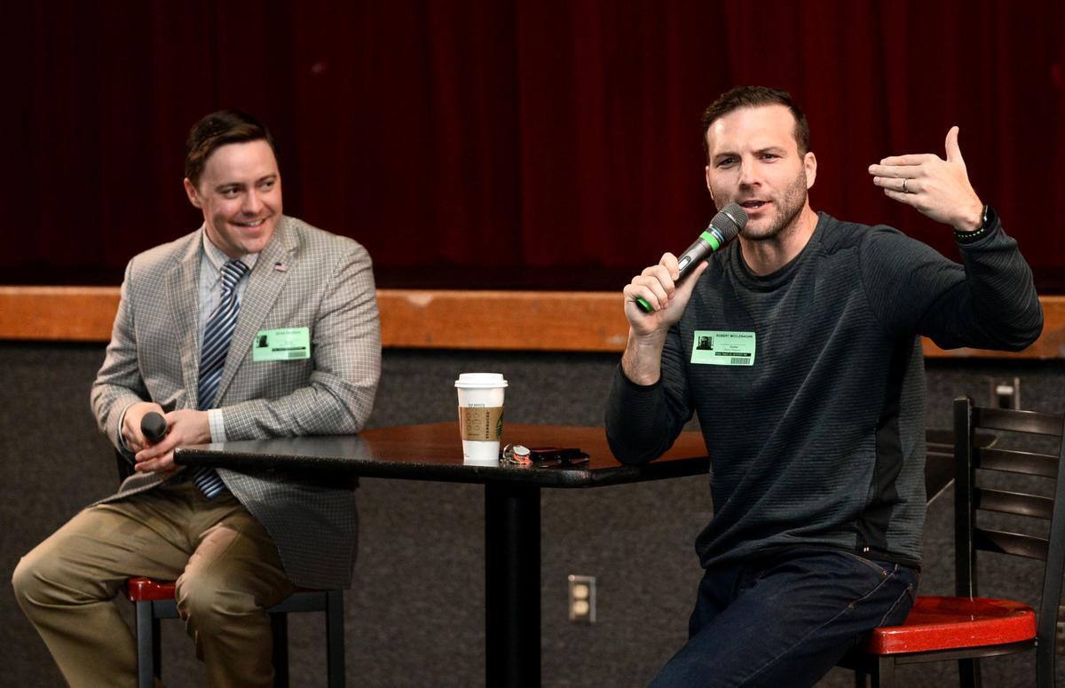 Maryville High School alumni Sean Parrish and R.D. McClenagan part of Centennial Speakers Series