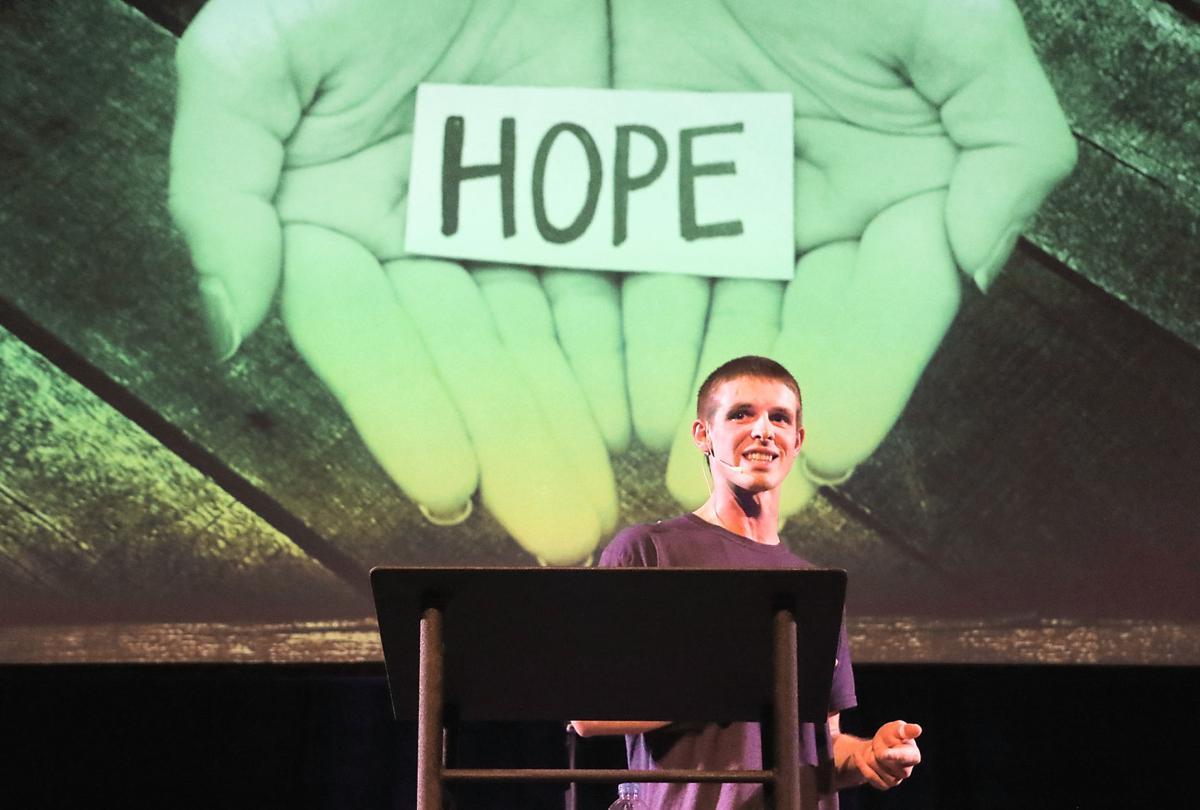 Matt Hall Speaks at Celebrate Recovery