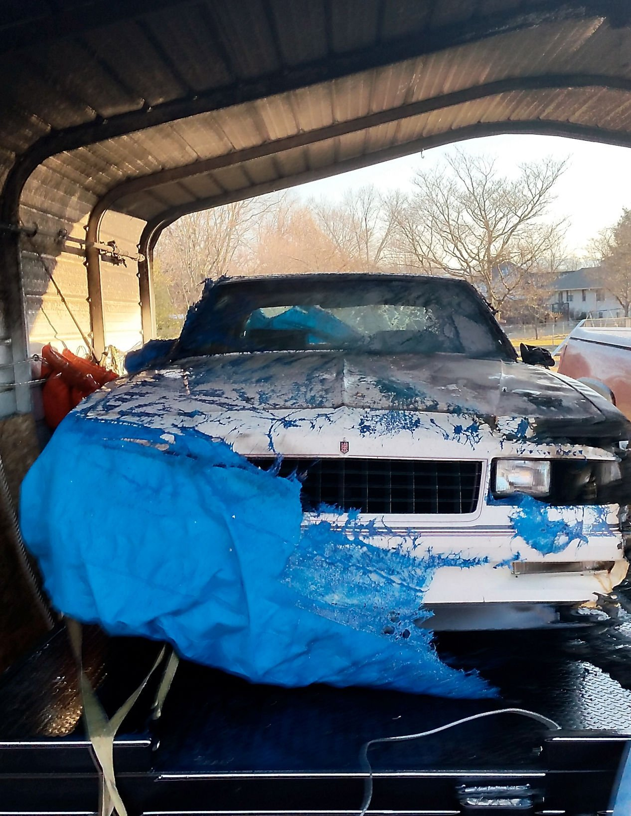 Fire Damages Rare 1986 Monte Carlo Ss Aerocoupe News Thedailytimes Com