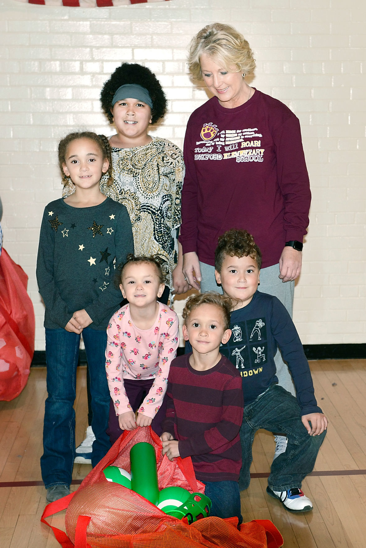 Rockford Elementary School rewards Patrick family with PE at Home kit