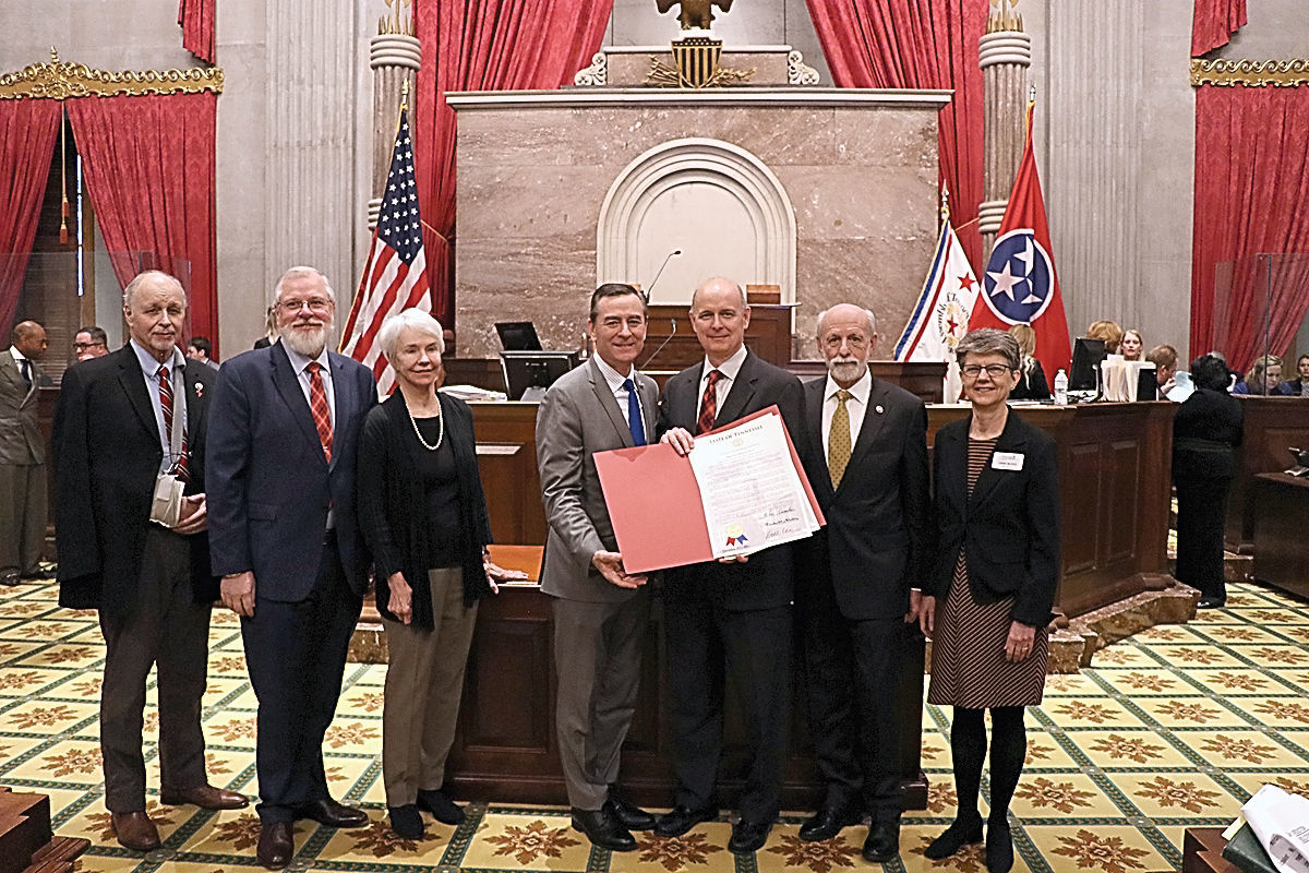 Tennessee House Joint Resolution No. 14 honors Maryville College bicentennial