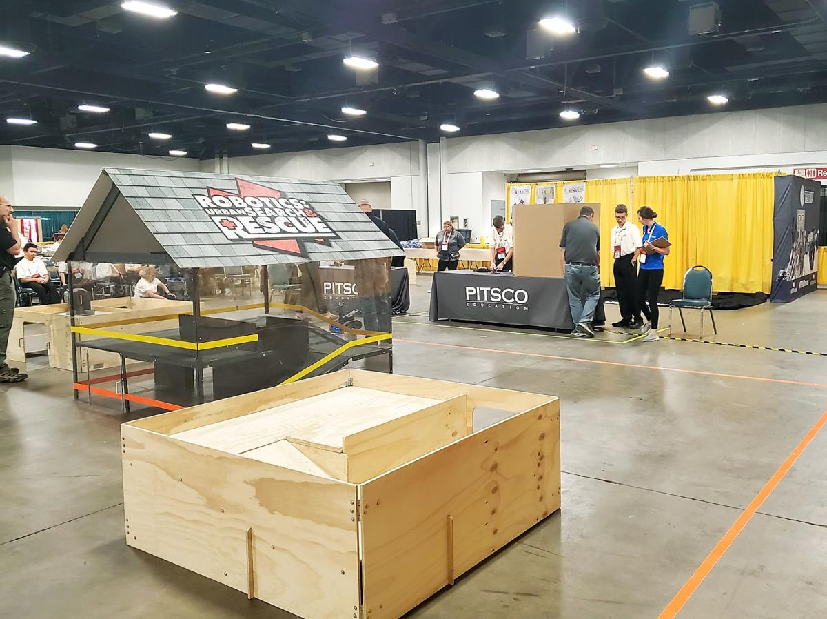 Heritage High School team competes in Robotics: Urban Search and Rescue at national SkillsUSA