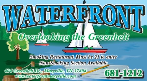 Waterfront Bar Grill Soups Salads Maryville Tn