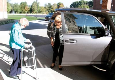 SMiles Driver Lisa Styke Helps Effie Cotton
