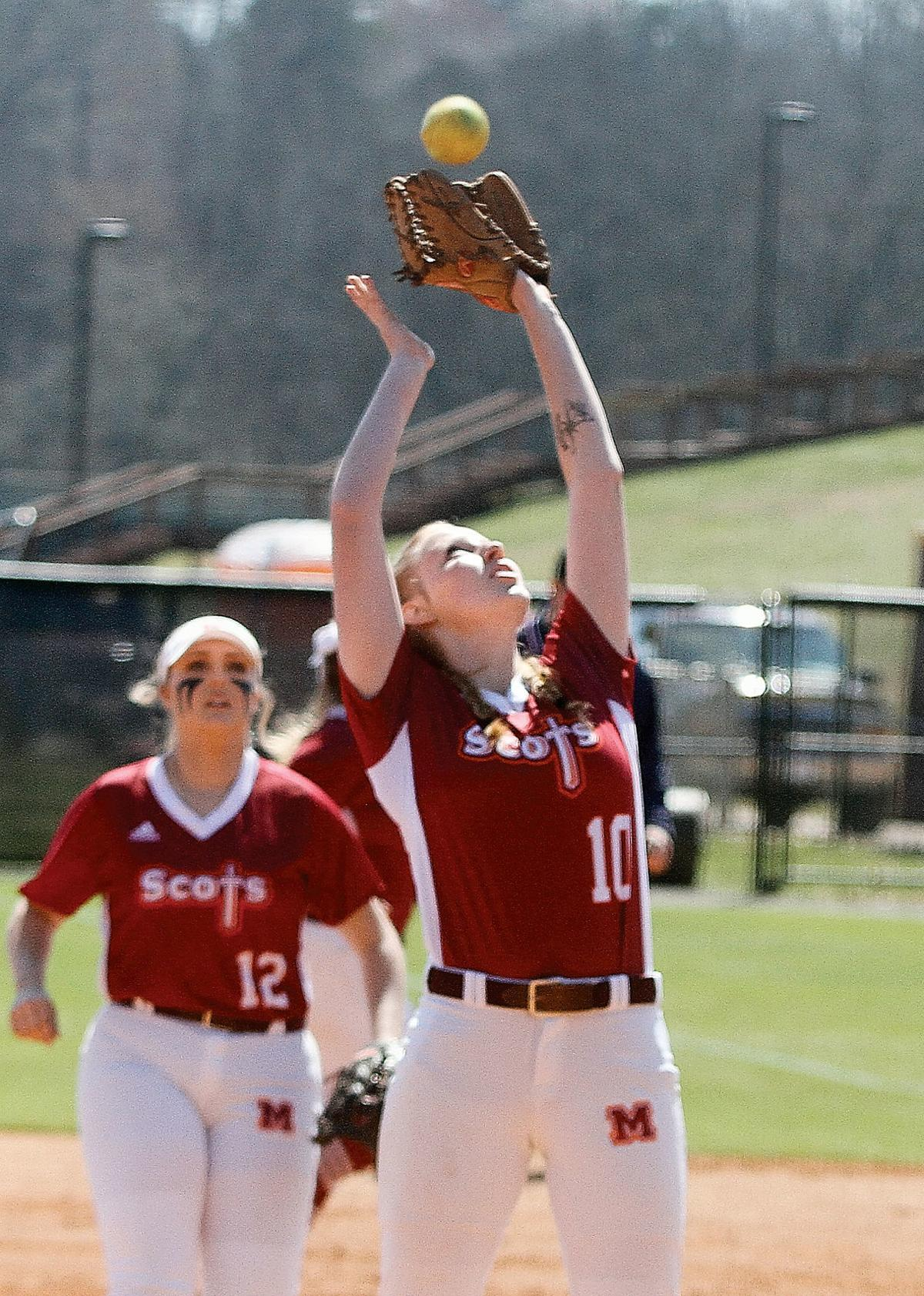 Maryville College pitcher Katlyn Smith