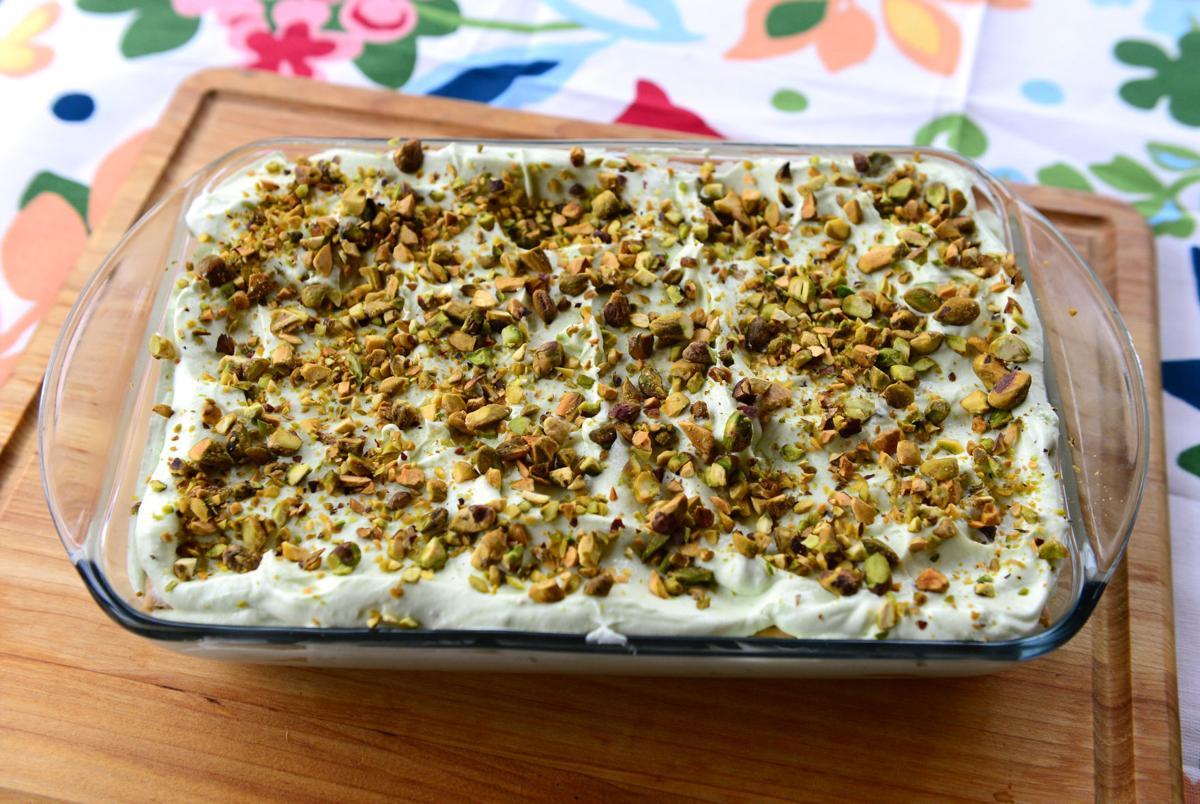 Pistachio Dessert