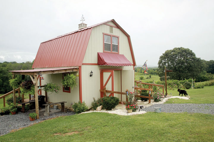 Blue Good Farm & Vineyard's store