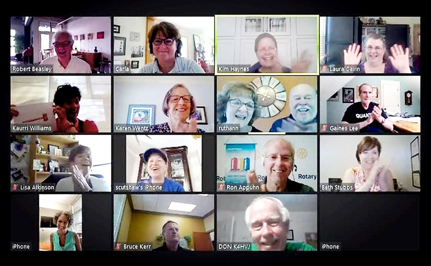 Rotary Club Zoom Meeting