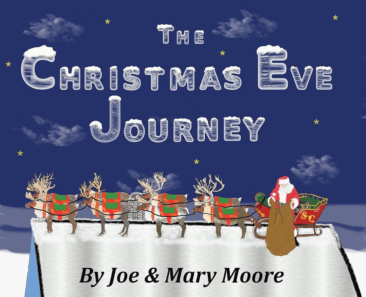 Professional Santa Claus and author Joe Moore