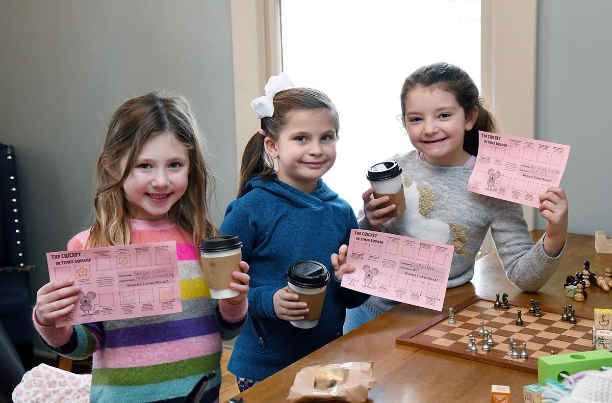 One Book Blitz scavenger hunt at Souther Grace Coffee
