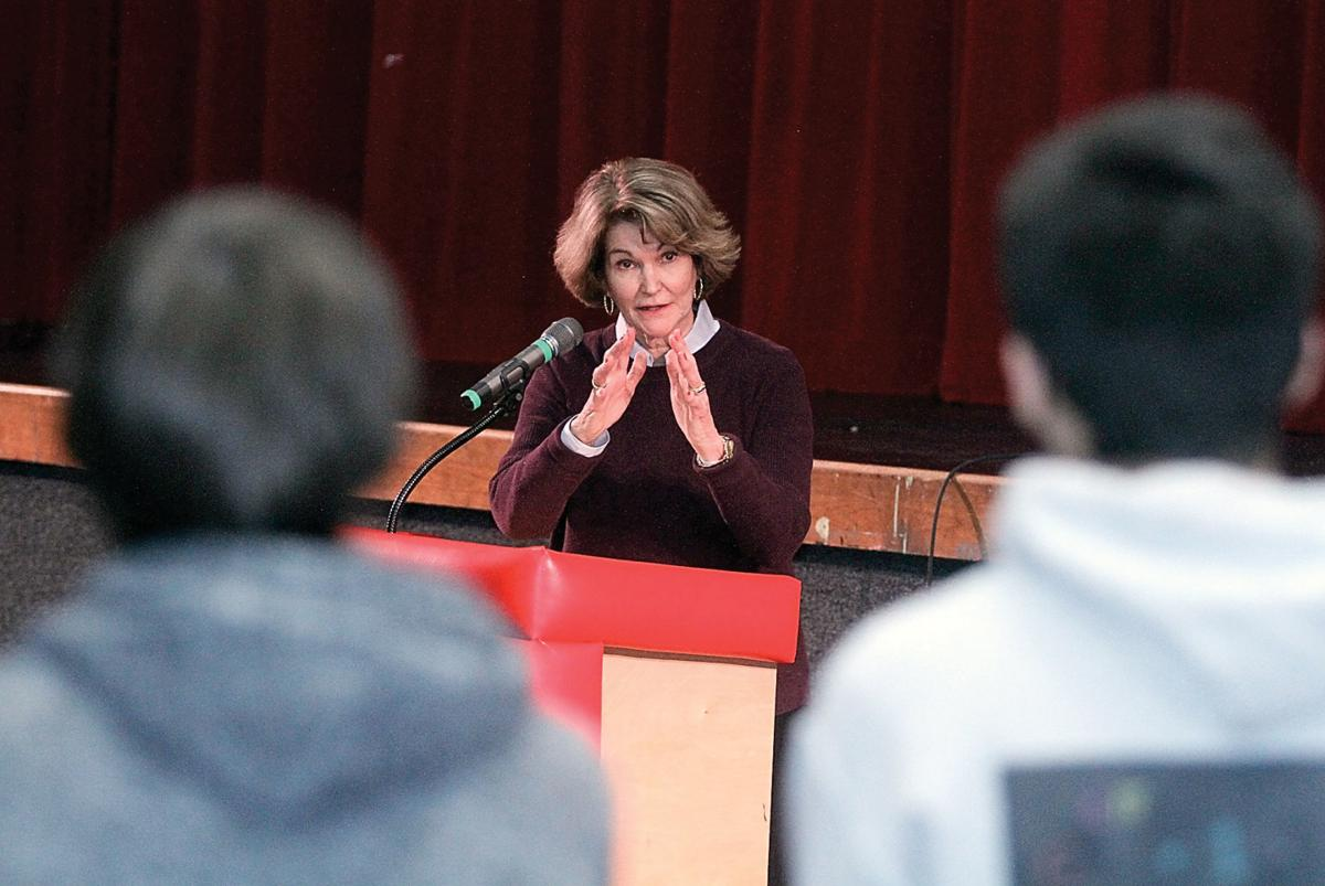 Bay Buchanan answers student's questions