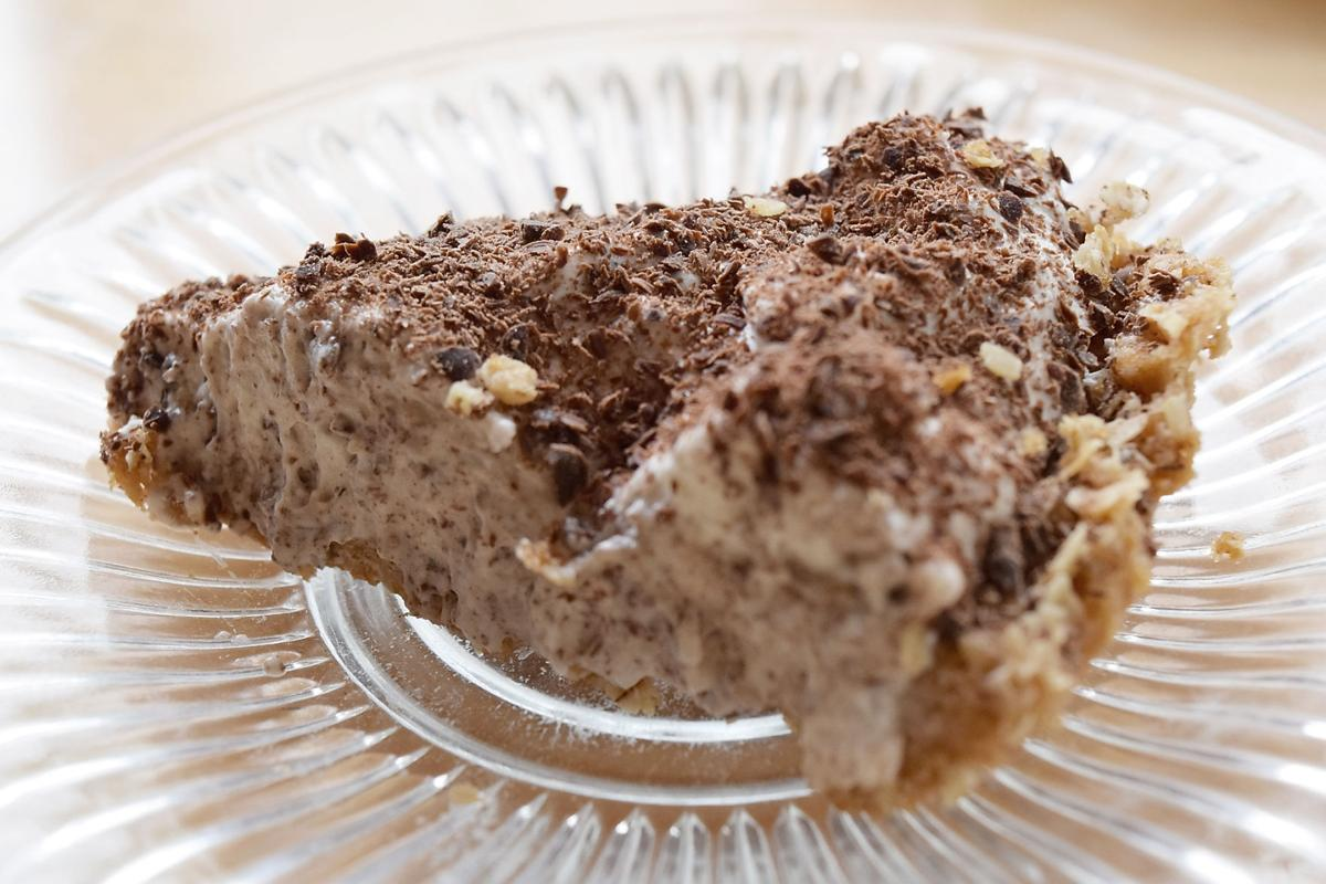 Miss Olivia's- Pudding Pie with an Oatmeal Crust