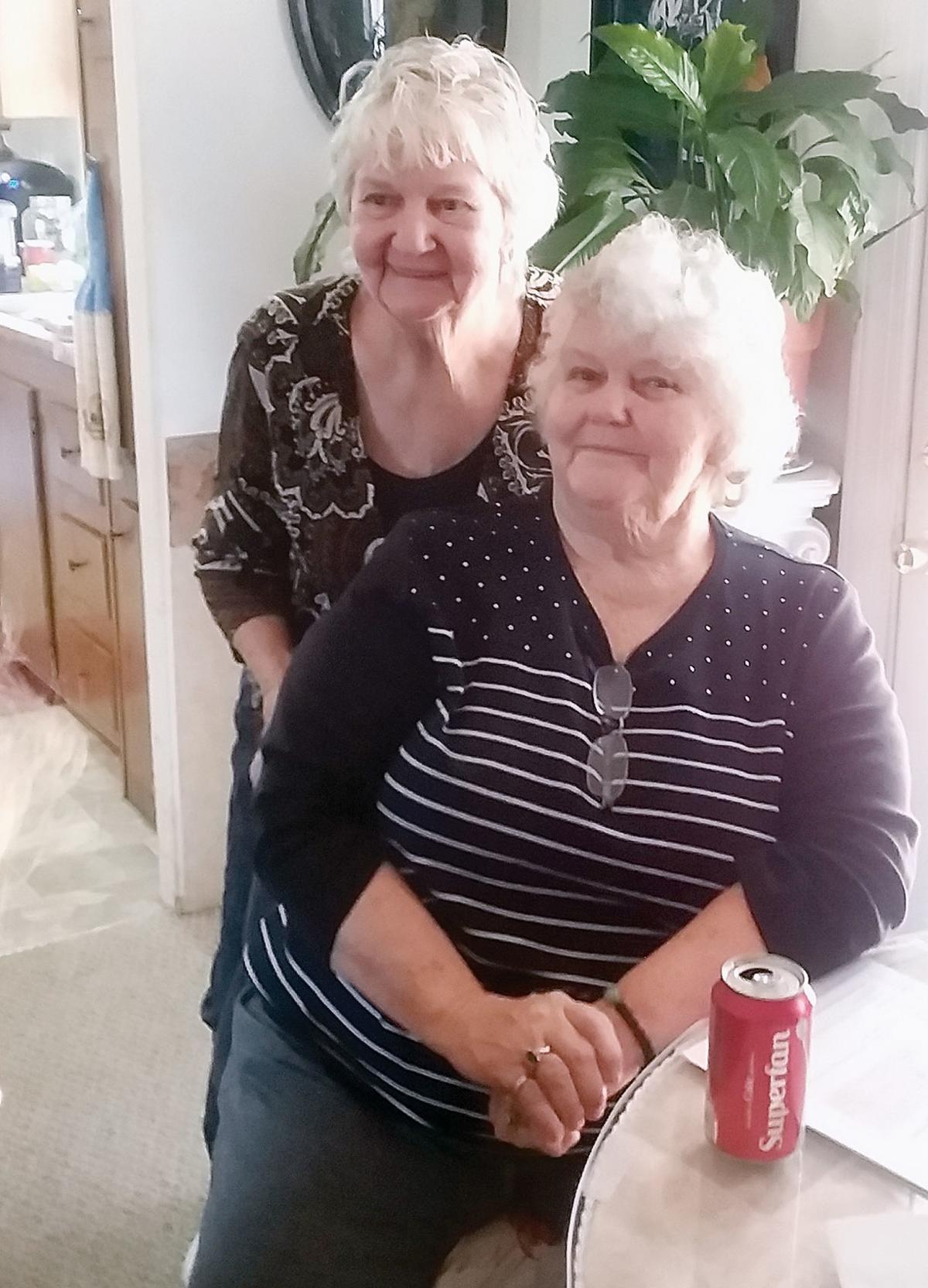 Barbara McGill and Claudie Mae Dent