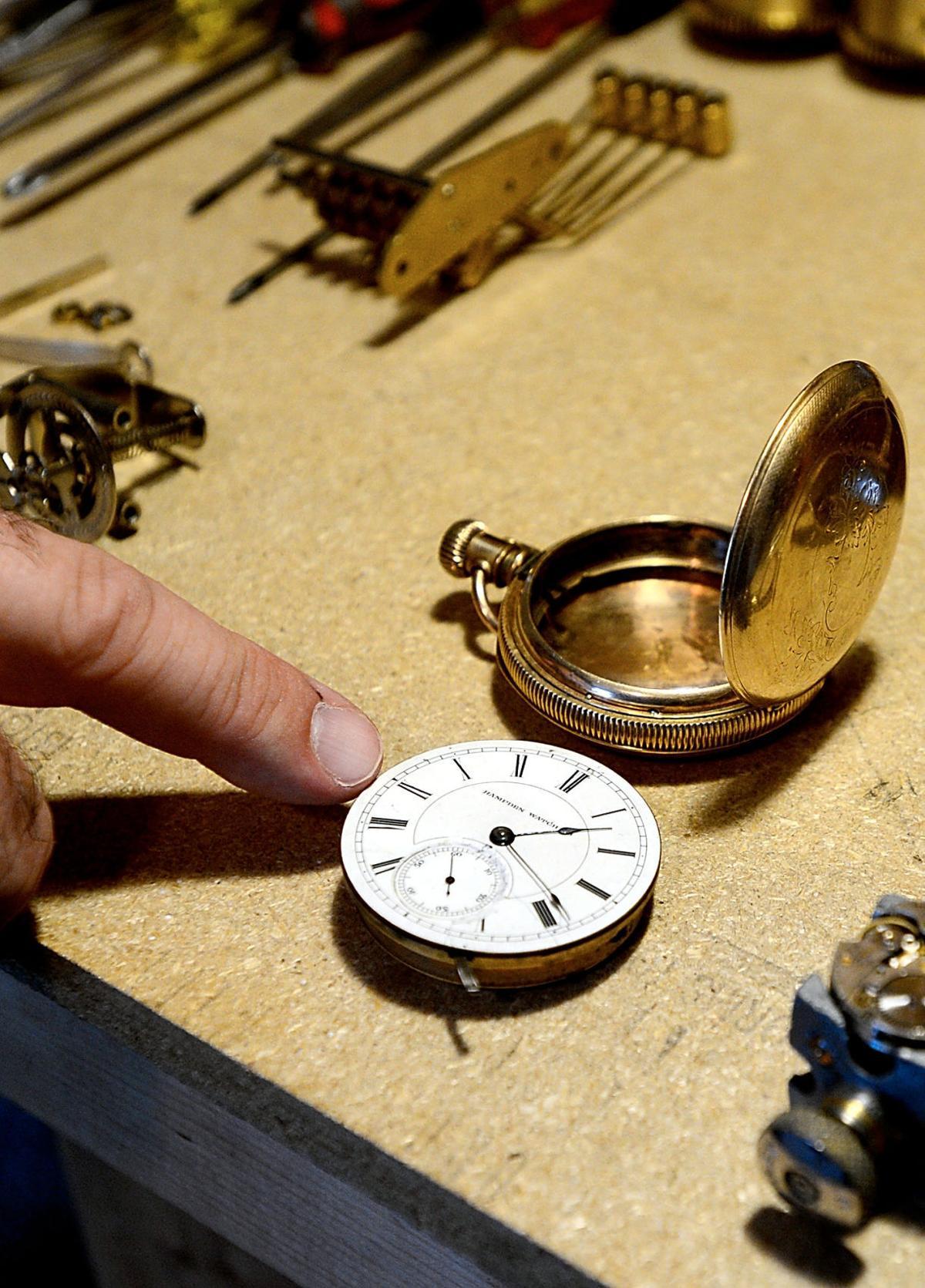 Preserving time: Clock repairman brings skills to Maryville