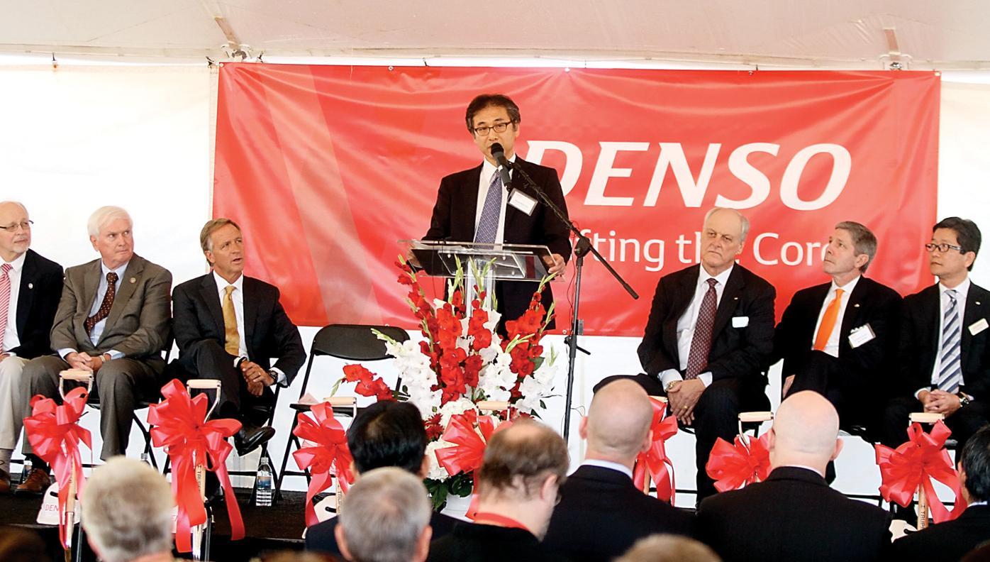 Kenichiro Ito announces DENSO will invest $1 billion in a project that will create 1,000 jobs