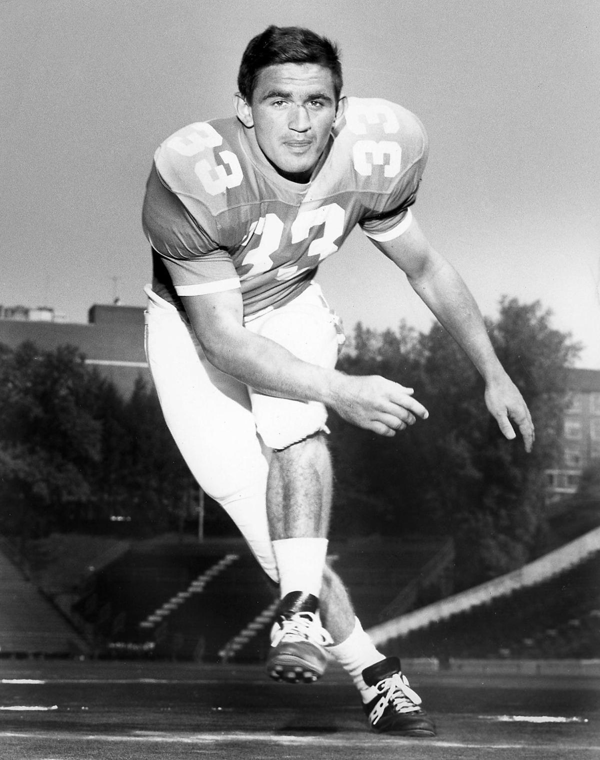 Ben Dalton as University of Tennessee football player