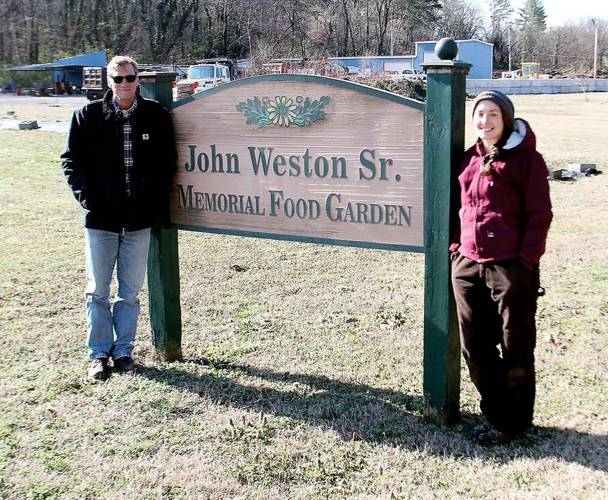 john weston sr memorial food garden thedailytimes com