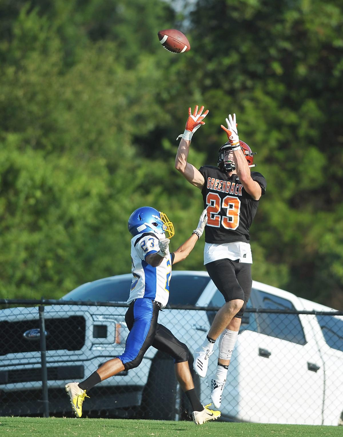 FOOTBALL: Greenback's Holden Willis vs Sweetwater