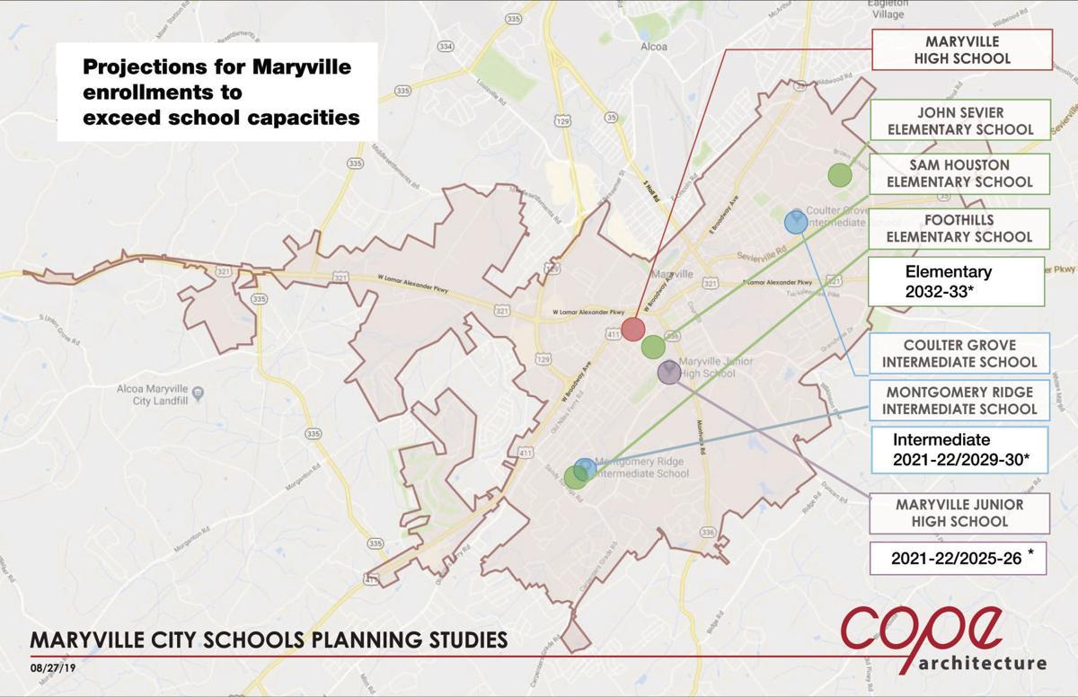 Maryville School Study Map