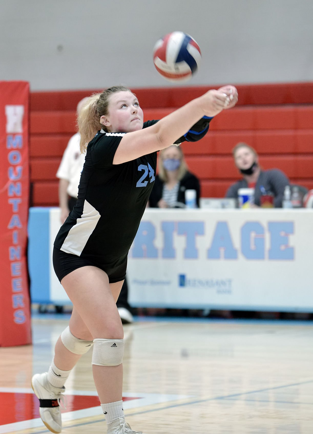 VOLLEYBALL: Heritage's Haley Jenkins vs HVA