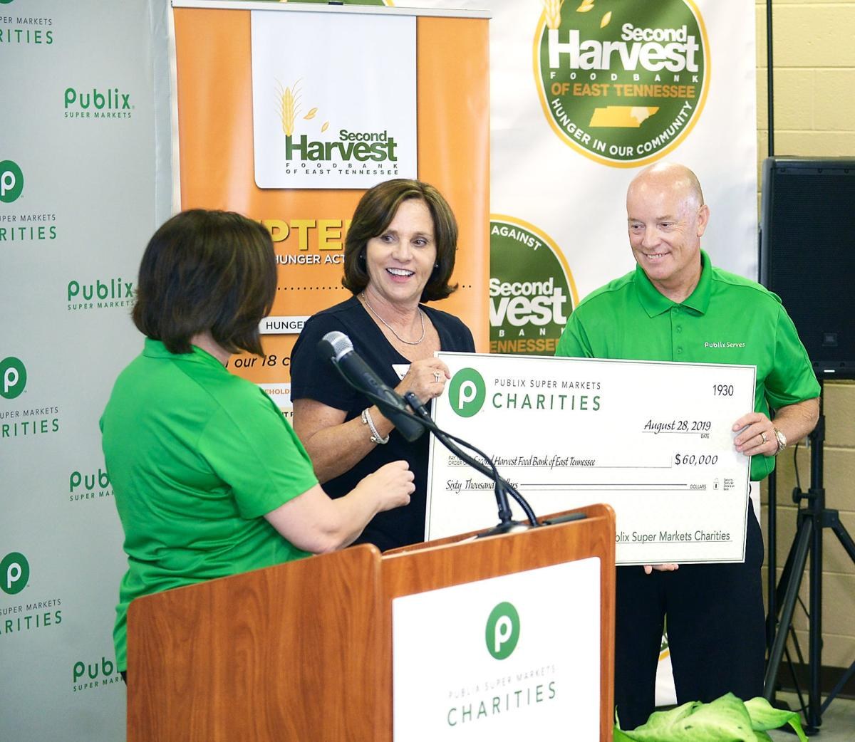 Second Harvest of East Tennessee receives $60,000 from