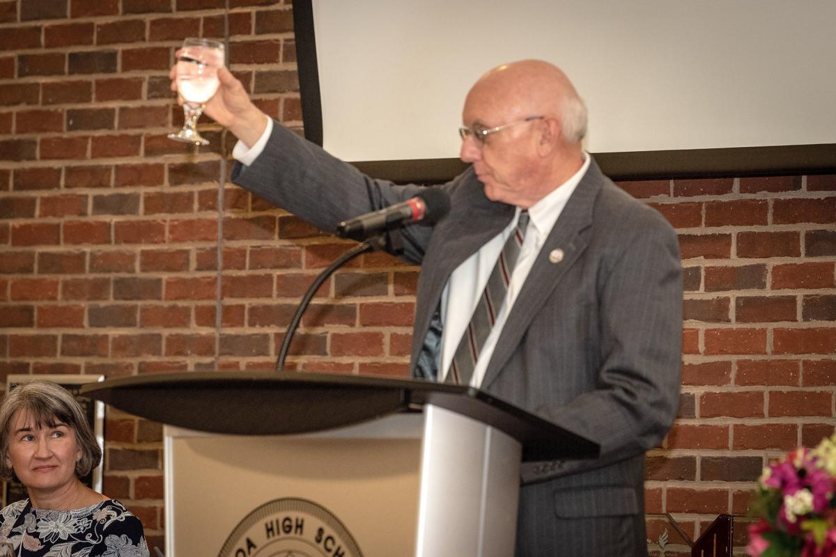 Judge David Duggan toasts Alcoa City Schools