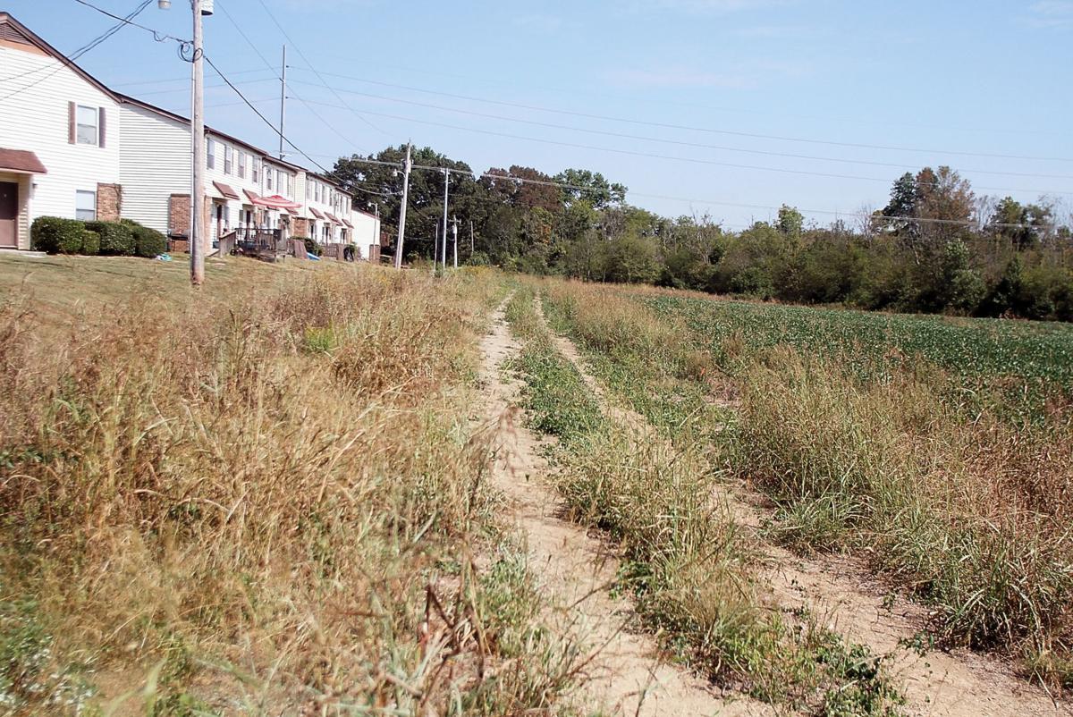 Greenway Phase IV behind Meadowood Apartments