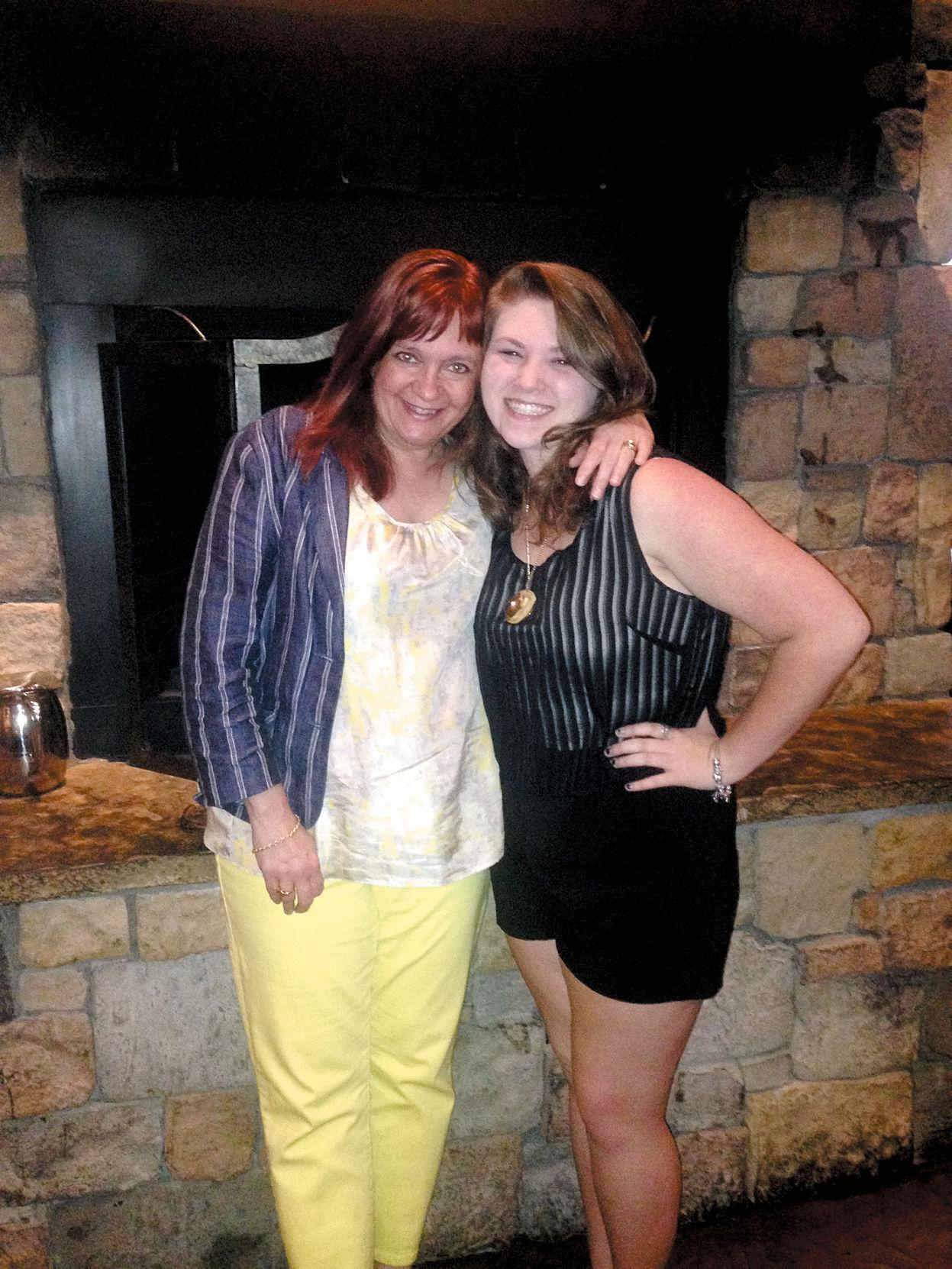 Valarie Budary with Hannah Rials