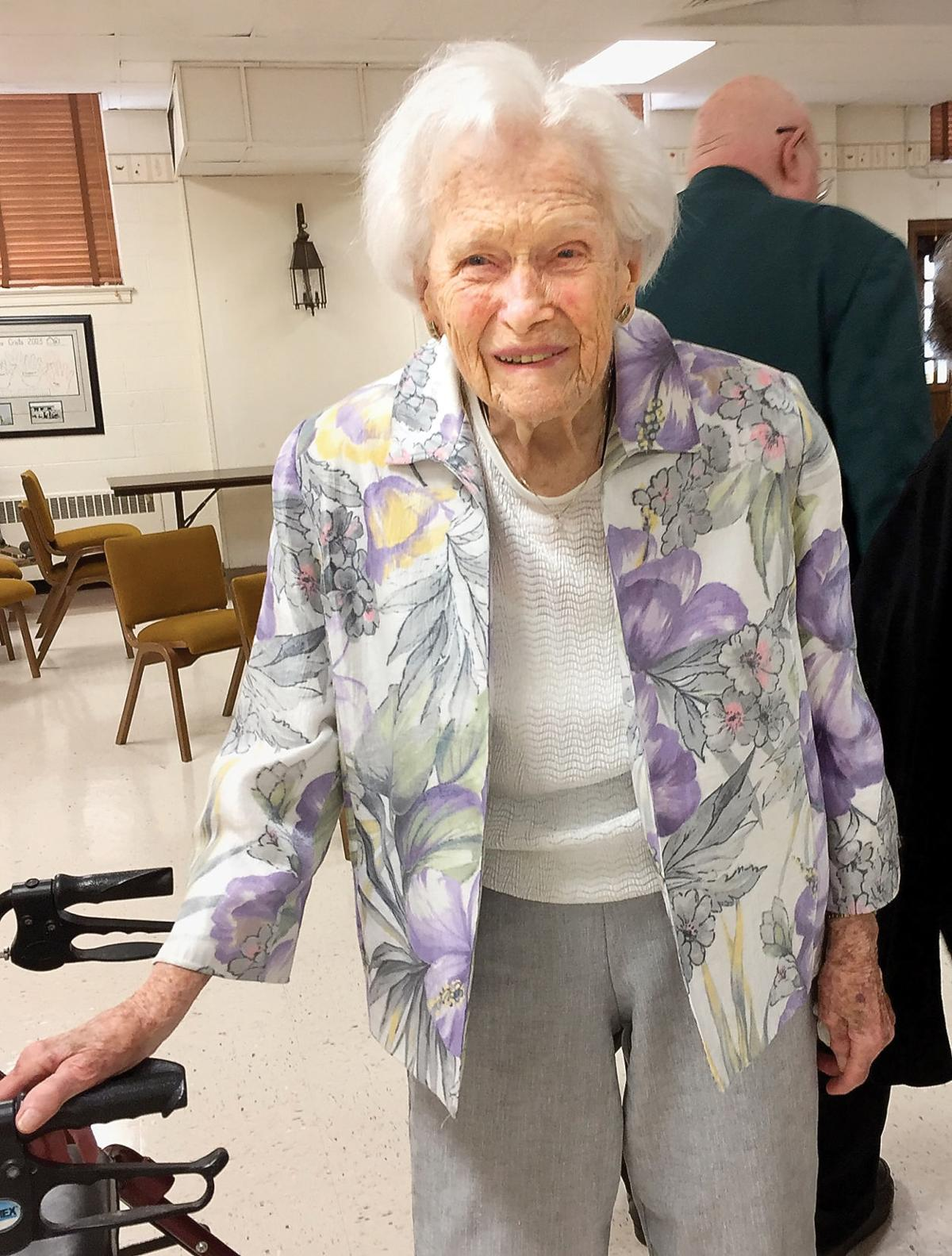 Lois Murphy will celebrate her 105th birthday