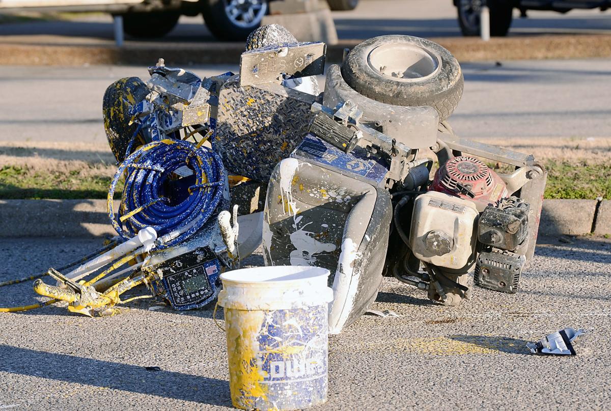 Highway wreck