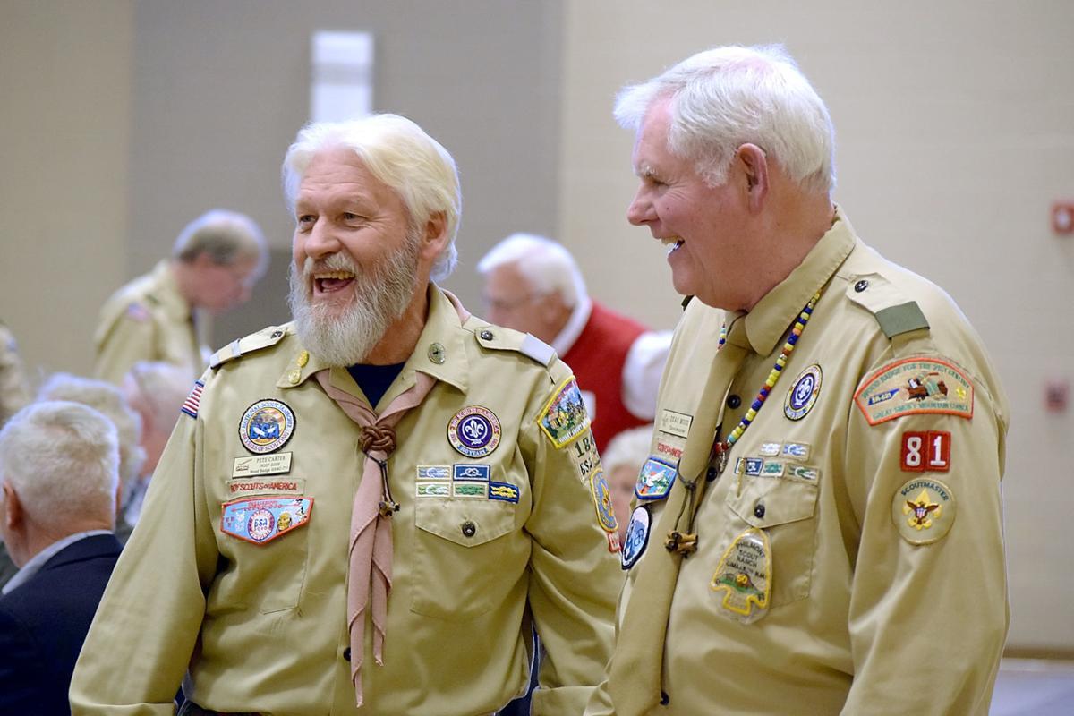 Good Scout Award Dinner - Pete Carter & Dean Moss