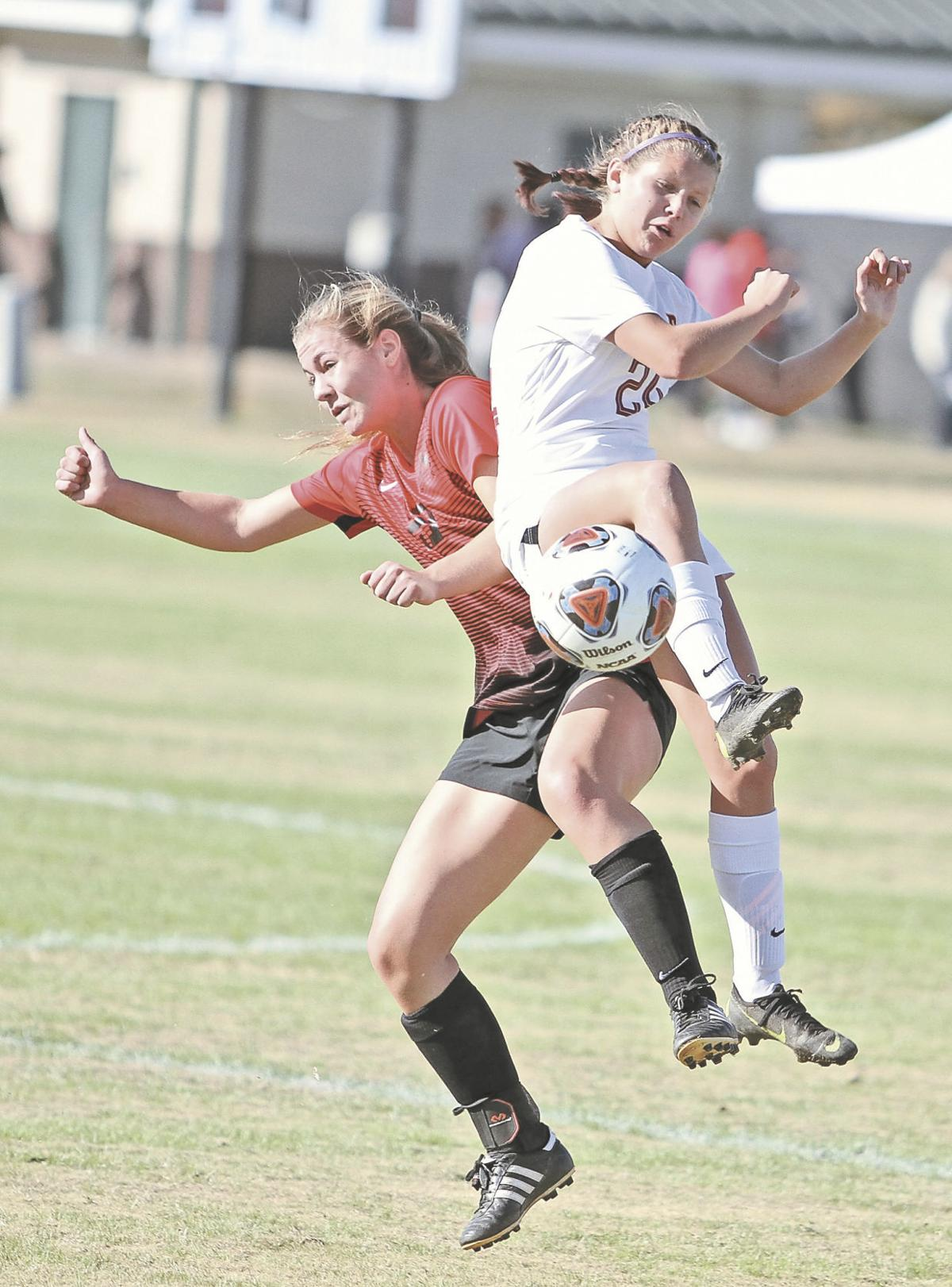 SOCCER: Maryville's Reyna Coston vs. Science Hill