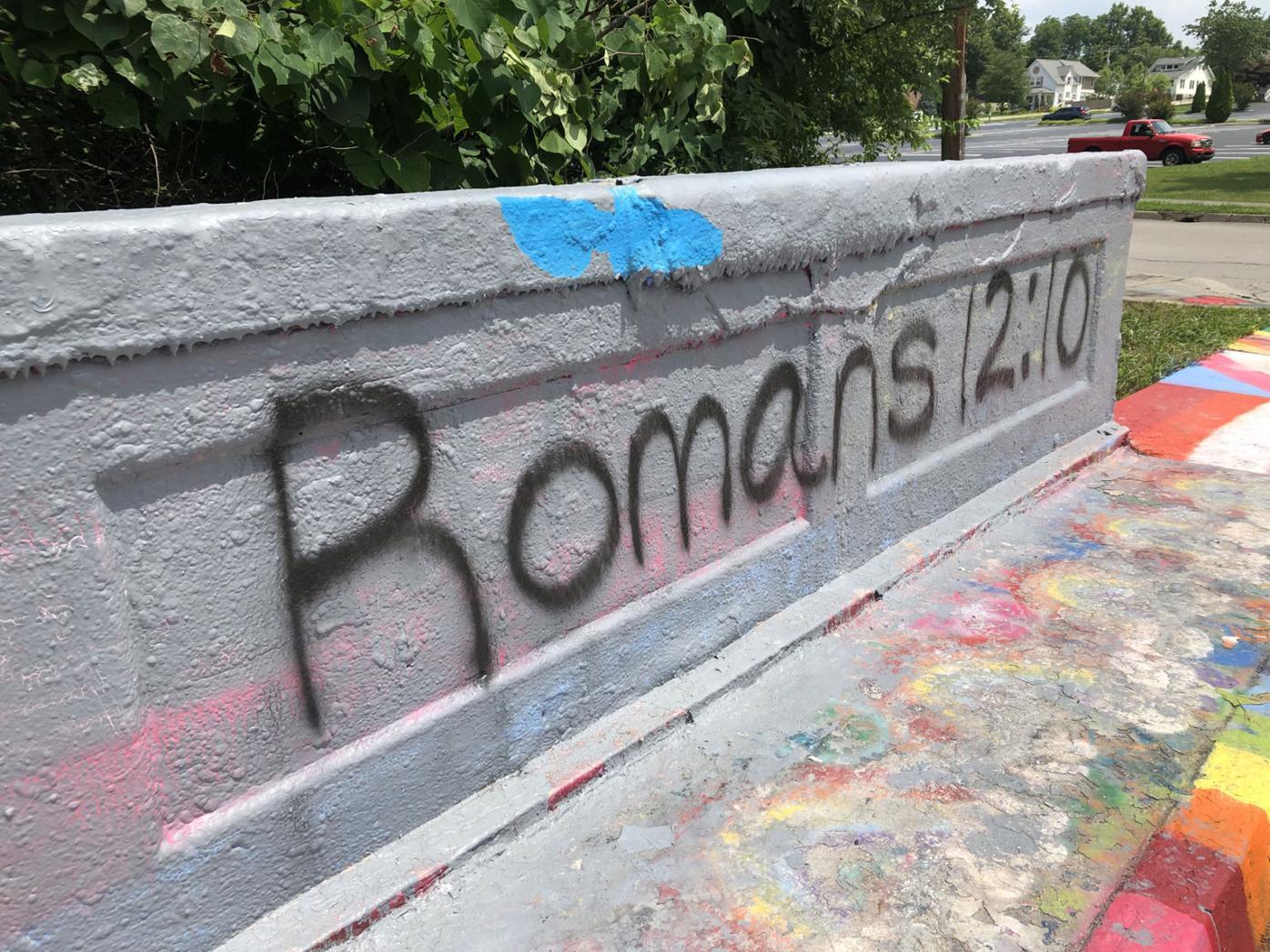 Alcoa bridge grafitti