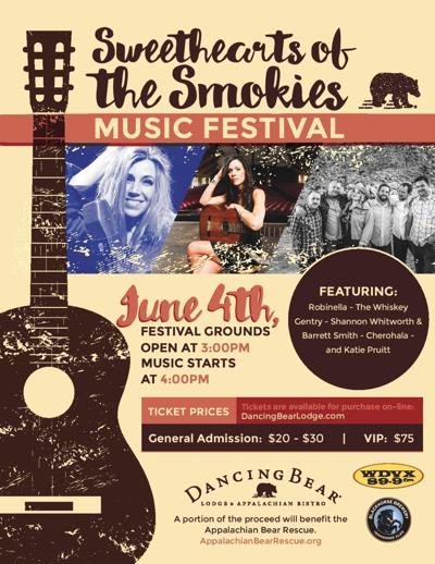 """Sweethearts of the Smokies Music Festival"""