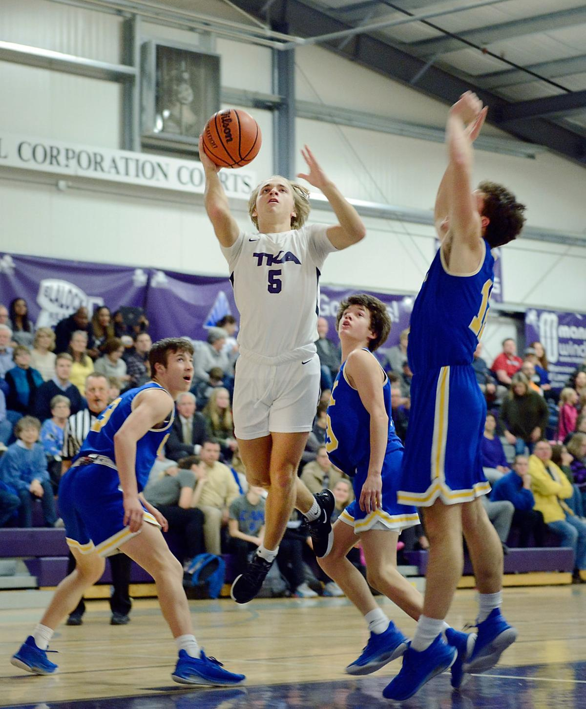BBALL: TKA's Zack Tilley vs CAK