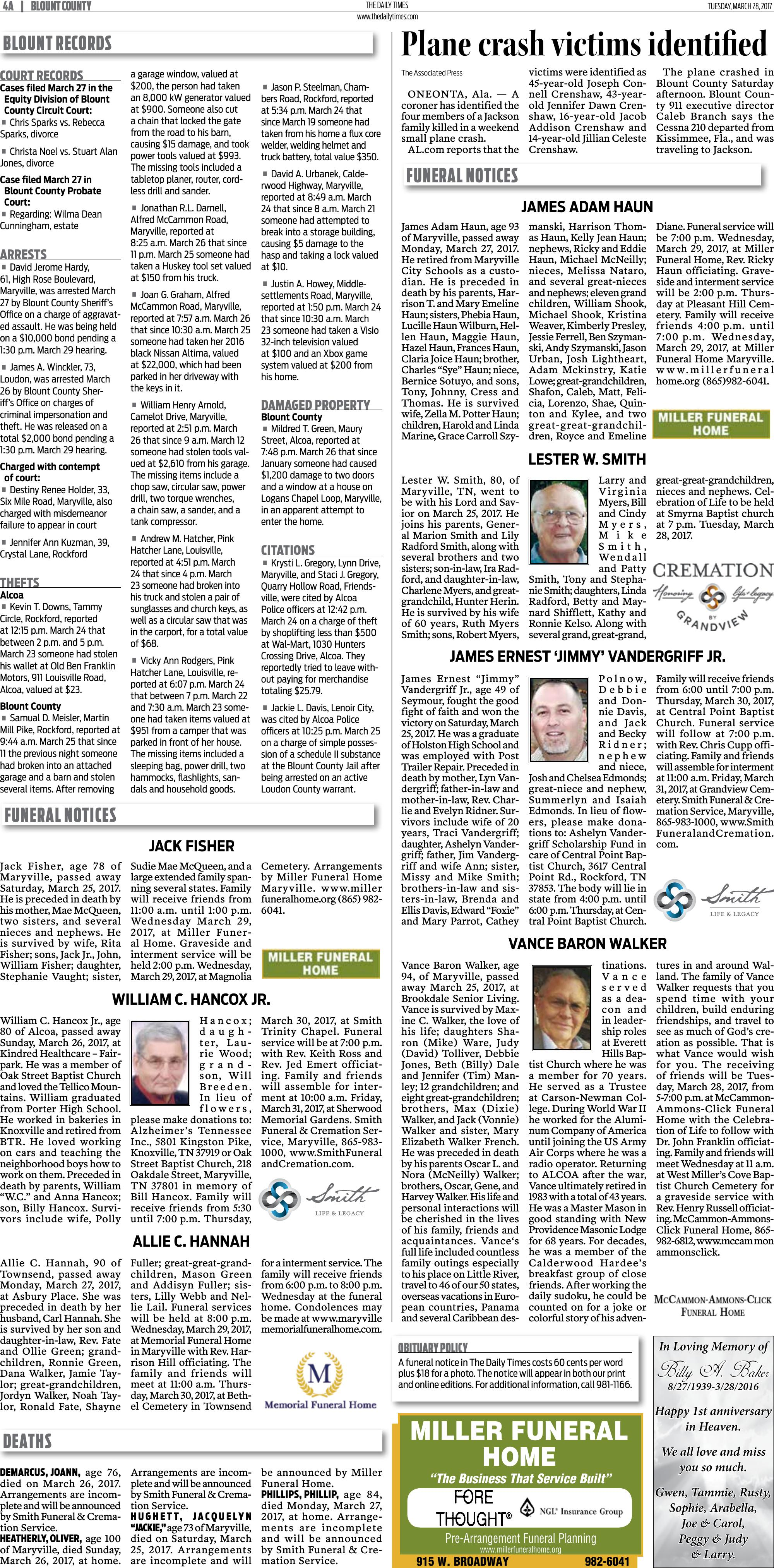 Page A4 | e-Edition | thedailytimes.com