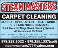 Steam Masters