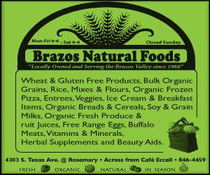 Brazos Natural Foods l Food & Beauty Products l Bryan, TX