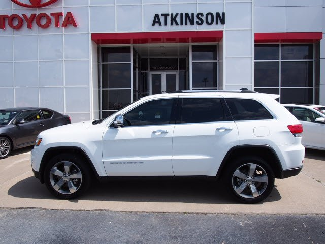 2014 Bright White Clear Coat Jeep Grand Cherokee